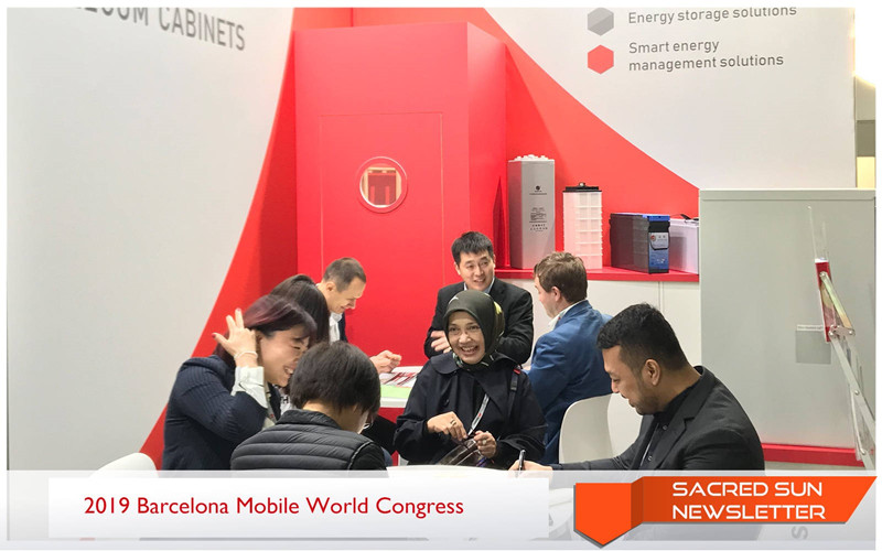 Sacred Sun\s Contribution to 5G at MWC 2019